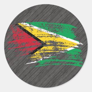 Cool Guyanese flag design Sticker
