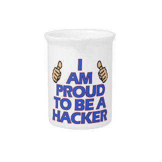 cool Hacker designs Beverage Pitchers