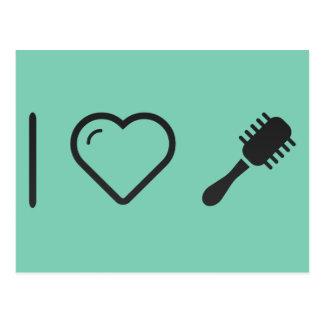 Cool Hair Rollers Postcard