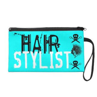 Cool Hair Stylist Scissor Holder Wristlet Clutches