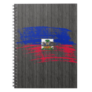 Cool Haitian flag design Notebook
