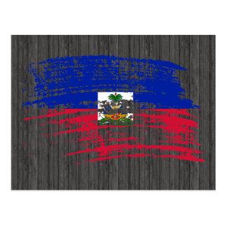 Cool Haitian flag design Postcard