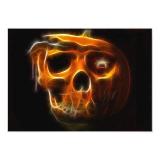 Cool Halloween Death Pumpkin Card