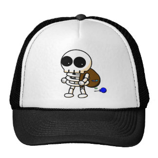 Cool Halloween Skeleton Hat