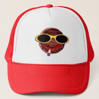 Cool Hamburger Trucker Hat