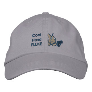 Cool Hand Fluke Embroidered Hats