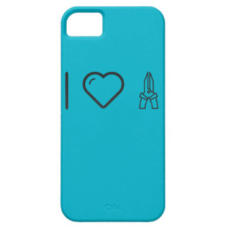 Cool Hand Pliers iPhone 5 Covers