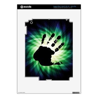 Cool Hand Print; Handprint iPad 3 Skins