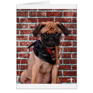 Cool Hand Pug Card