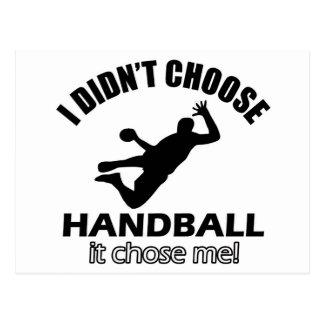 Cool Handball designs Postcard