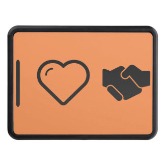 Cool Handshake Propers Hitch Cover