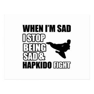 Cool Hapkido designs Postcard