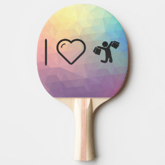 Cool Happy Shoppers Ping Pong Paddle