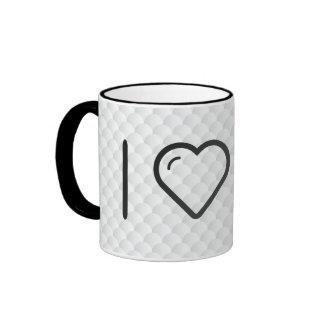 Cool Happy Shoppers Ringer Coffee Mug
