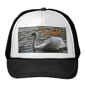 Cool Hat with a beautiful picture of a swan