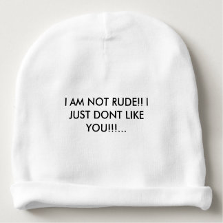 COOL HAT WITH AN ATTITUDE QUOTE!!!