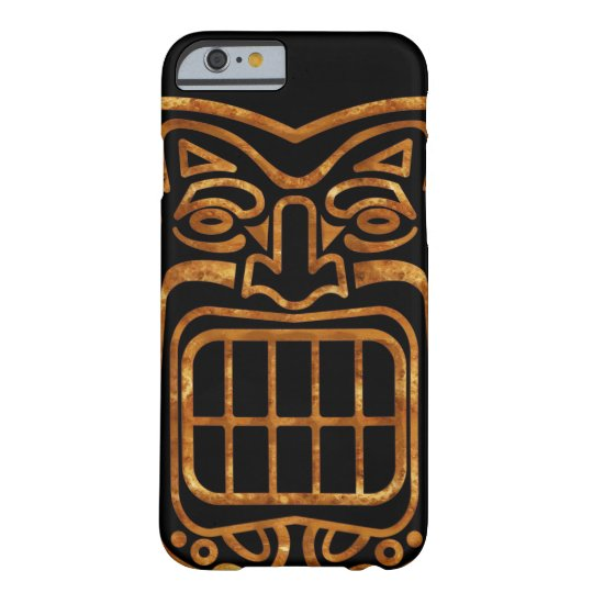 cool hawaiian tiki mask barely there iphone 6 case zazzle com