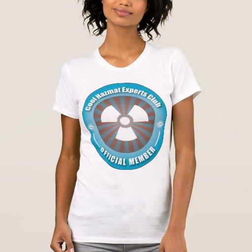 Cool Hazmat Experts Club T-shirts