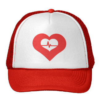 Cool Healthy Heart Picto Trucker Hat