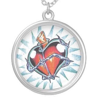 Cool Heart Love Elixir   tattoo necklace