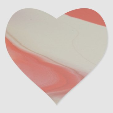 Beach Themed Cool Heart Sticker