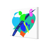 Cool Heart Stretched Canvas Print