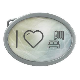 Cool Heating Oval Belt Buckle