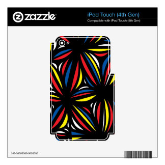 Cool Helpful Yummy Laugh Decal For iPod Touch 4G