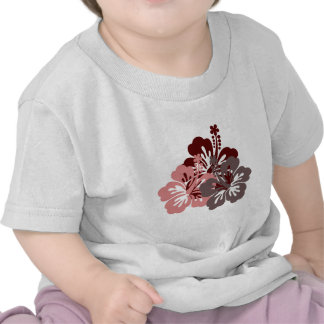 cool hibiscus t-shirt