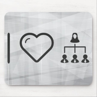 Cool Hierarchy Mouse Pad