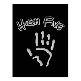 Cool High Five Hand Postcard