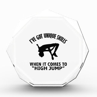 cool High Jump DESIGNS Acrylic Award
