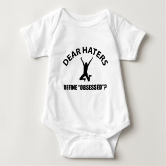 Cool high jumping designs baby bodysuit