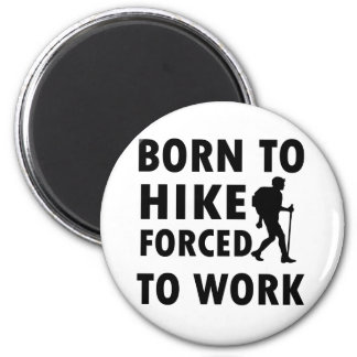 Cool Hike Designs 2 Inch Round Magnet