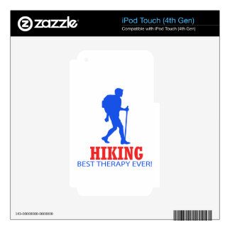 cool Hiking DESIGNS iPod Touch 4G Skins