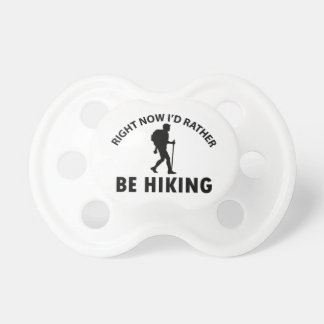 Cool hiking designs pacifiers
