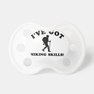 COOL HIKING SKILLS DESIGNS BABY PACIFIER
