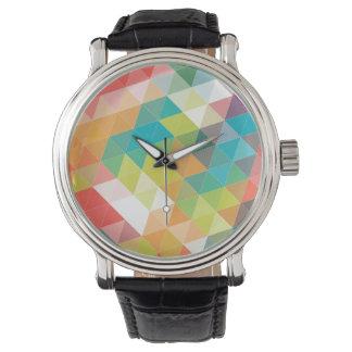 Cool Hipster Pattern Wristwatch