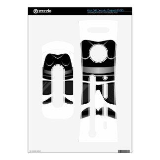 Cool Hipster with mustache, hat and sunglasses Skin For The Xbox 360