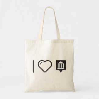 Cool Historical Monument Budget Tote Bag