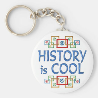 Cool History Basic Round Button Keychain