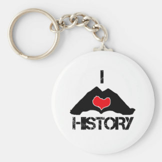 cool History' designs Basic Round Button Keychain