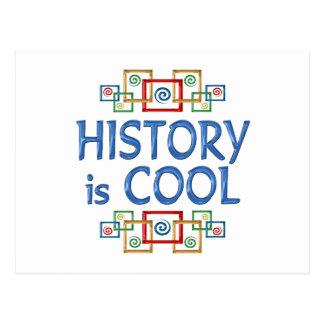 Cool History Postcard