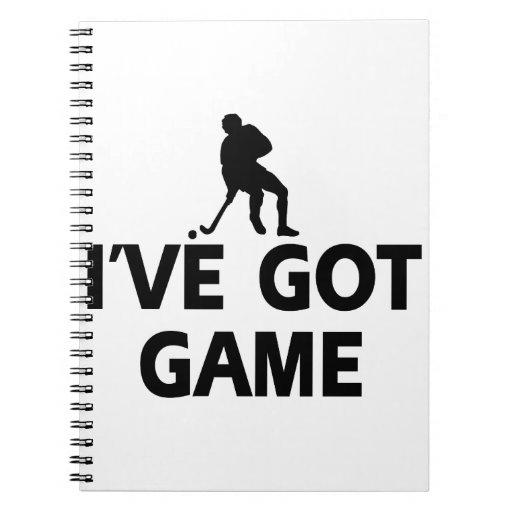 Cool hockey designs journals
