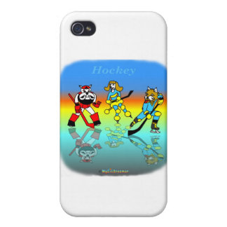 Cool hockey gifts for kids cases for iPhone 4