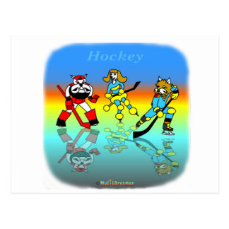 Cool hockey gifts for kids post card