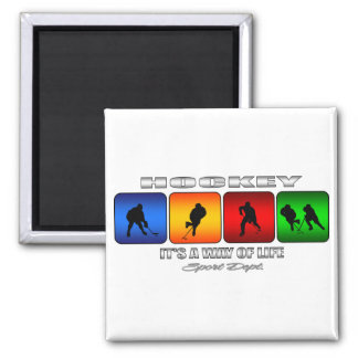Cool Hockey It Is A Way Of Life Magnet