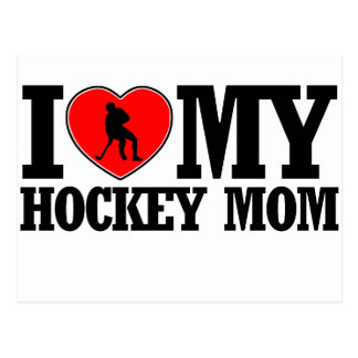 cool Hockey  mom designs Postcard