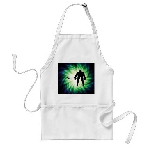 Cool Hockey Player Aprons
