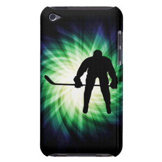 Cool Hockey Player Barely There iPod Cases